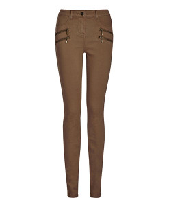 4-Zip Skinny Jeans