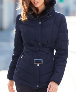 Navy Padded Jacket