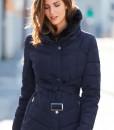 Navy Padded Coat