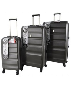 Charcoal Hard Shell Suitcases