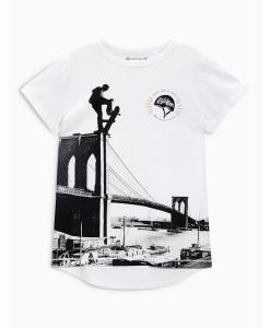 Brooklyn Bridge Skater T-Shirt