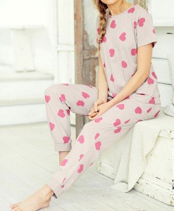 Pink Heart Pyjamas