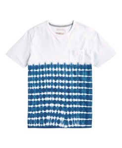 Next White T-Shirt with Tie-dye effect