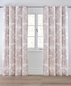 Next Natural Floral Print Curtains