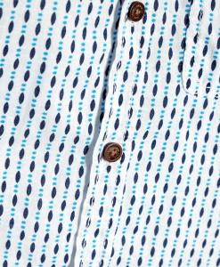 Next Blue Linen Mix Shirt