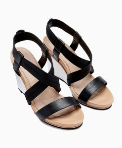 Next Elastic Wedge Sandals