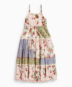 Next Floral Patch Maxi Dress