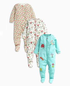 Next Toadstool Sleepsuits