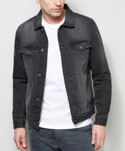 Next Black Denim Jacket Choice Discount