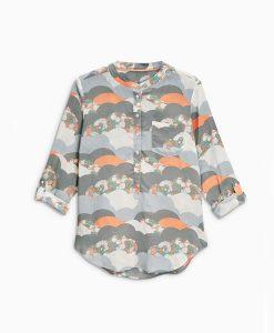 Next Printed Grey Shirt Choice Discount
