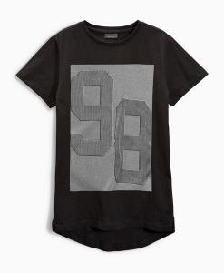 Next Black Print T Shirt Choice Discount