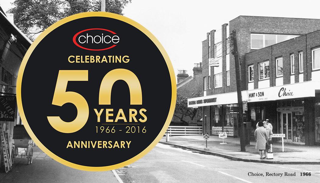 Choice 50 Years Anniversary