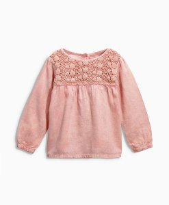 Next Pink Crochet Blouse Choice Discount