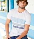 Next White Stripe T Shirt Choice Discount