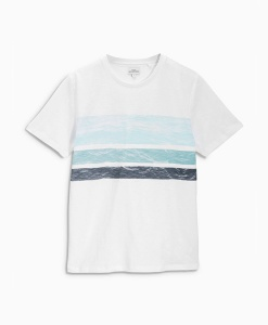 Next White Stripe T Shirt Choice Discount