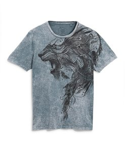 Choice Discount Grey Acid Wash T-Shirt Next