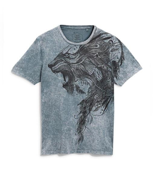 Grey Acid Wash T-Shirt