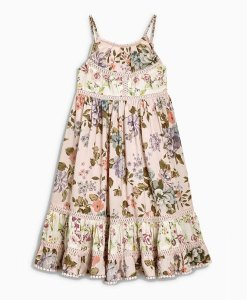 Choice Discount Pink Floral Maxi Dress Next
