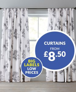 Curtains From £8.50 Choice Discount