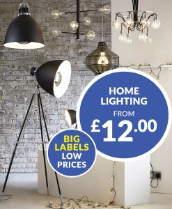 Home Lighting from £12.00 Choice Discount