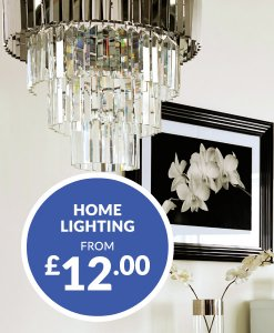Home Lighting from £12 Choice Discount