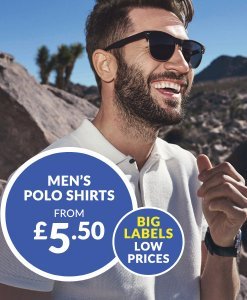Mens Polo Shirts from £5.50