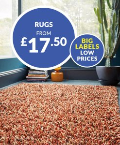 Rugs From £17.50 Choice Discount