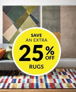 25% off Rugs at Choice
