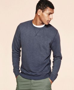 Choice Navy crew neck jumper Next