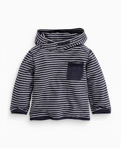 Choice Navy Stripe Hoodie Next