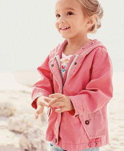Choice Pink Hooded Jacket Next