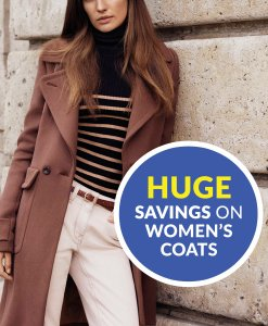 Huge Savings on Women's Coats