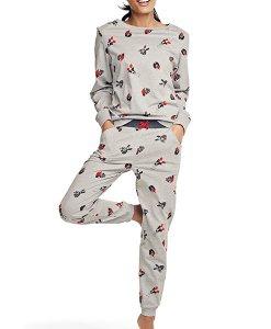 Choice Dog Print Pyjama Set Next