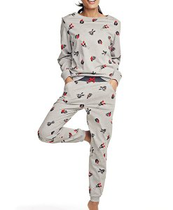 Choice Dog Print Pyjama Set Next
