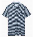 Choice Indigo Stripe Polo Shirt Next