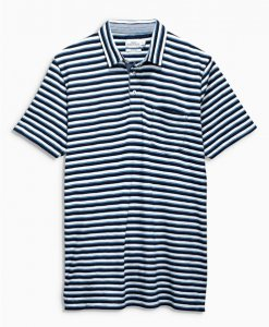 Choice Indigo Stripe Polo Shirt Next