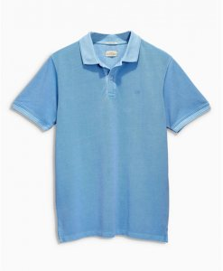 Choice Blue Pique Polo Shirt Next