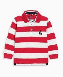 Choice Red Bretton Polo Shirt Next