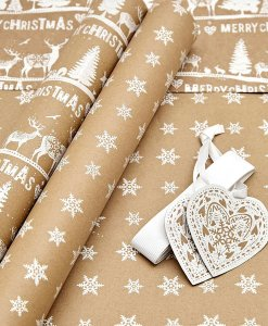 Next Luxury Craft Wrapping Paper Choice Discount
