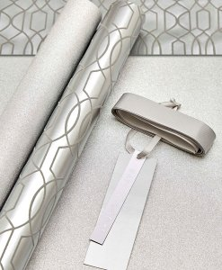 Next Luxury Silver Wrapping Paper Choice Discount