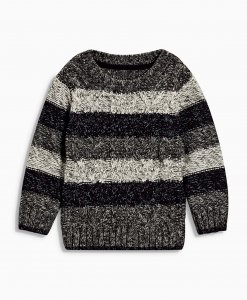 Choice Stripe Cable Knit Jumper Next
