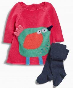 Choice Bird Knit Dress Next
