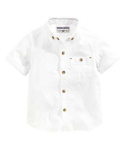 Choice Linen White Shirt Choice Discount