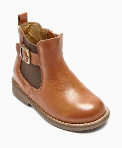 Next Tan Leather Chelsea Boots Choice Discount
