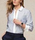 Next Blue Stripe Shirt Choice Discount