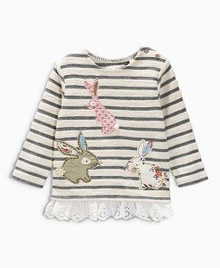 Next Bunny Embroidered Crew Choice Discount