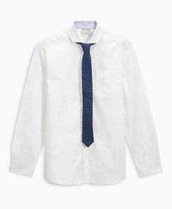 Next White Shirt and Tie Choice Discount