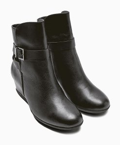 Next Black Casual Ankle Boots Choice Discount