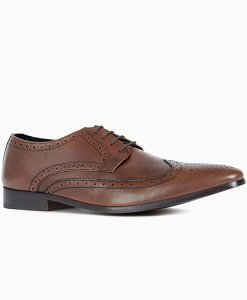 Next Comfort Tan Brogues Choice Discount
