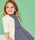 Next Navy Stripe Tunic Dress Choice Discount